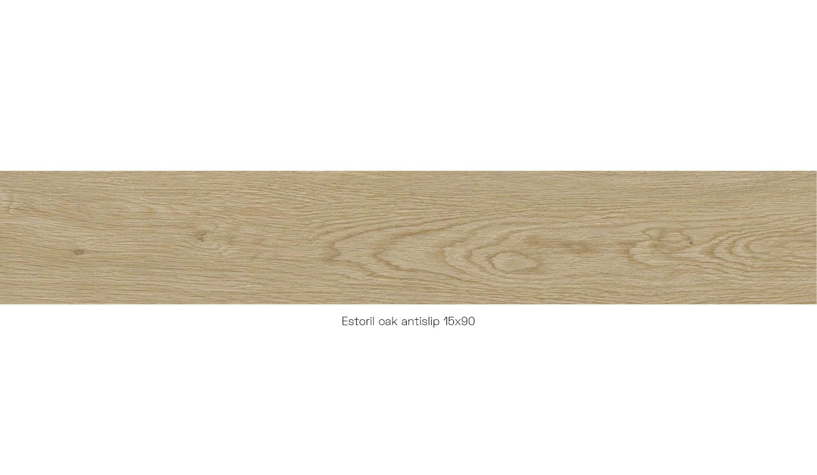 Estoril oak antislip 15 x 90