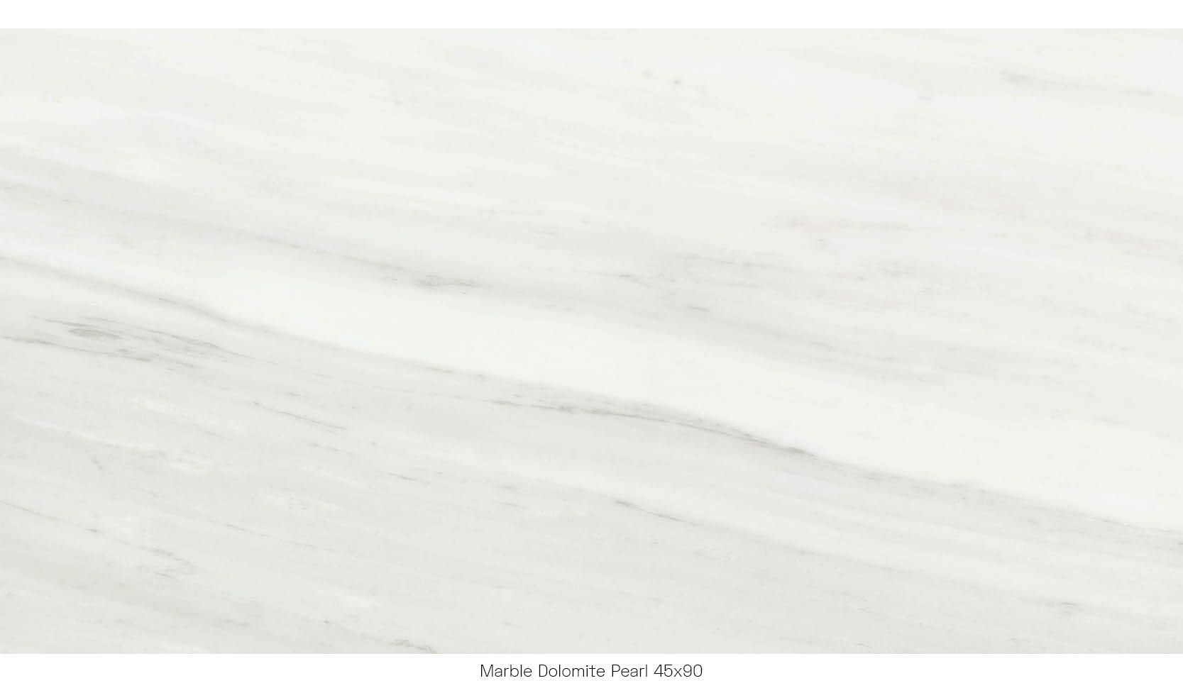 Marble dolomite pearl 45 x 90