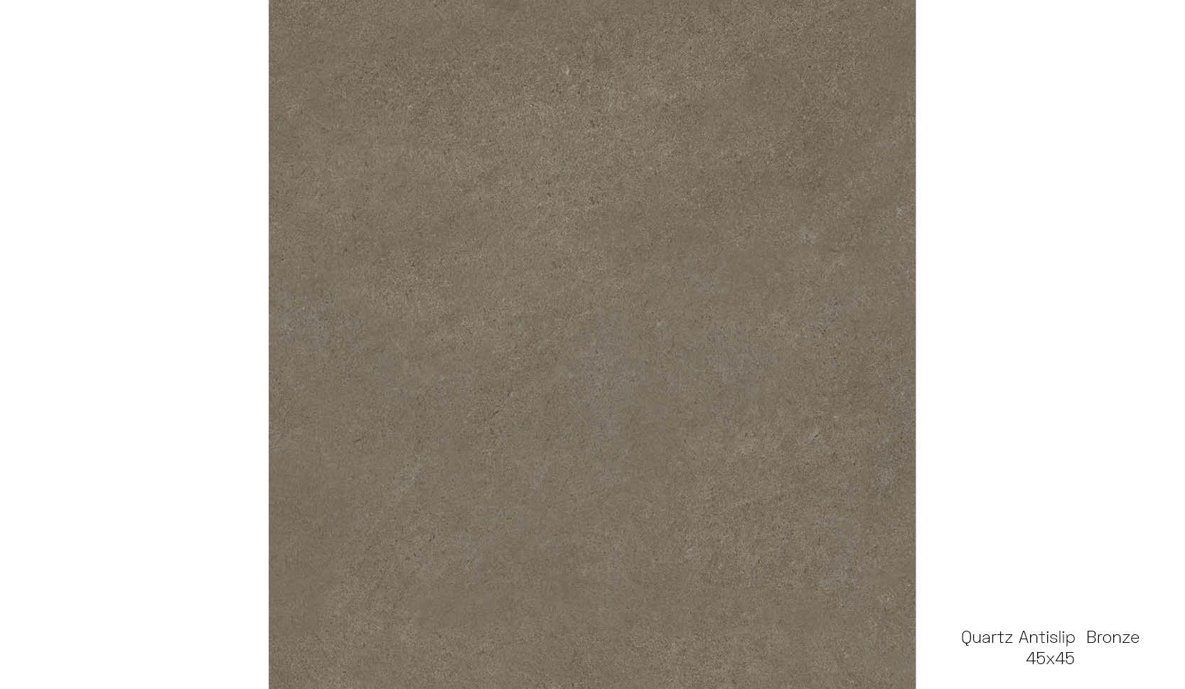 Quartz antislip bronze 45 x 45