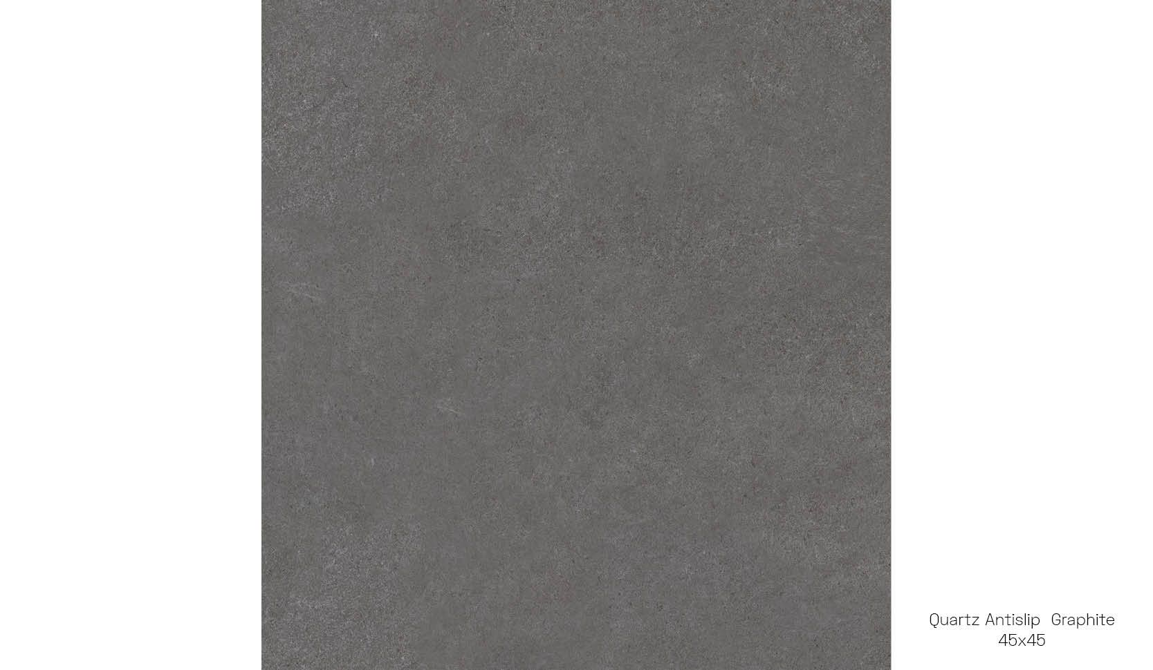 Quartz antislip graphite 45 x 45
