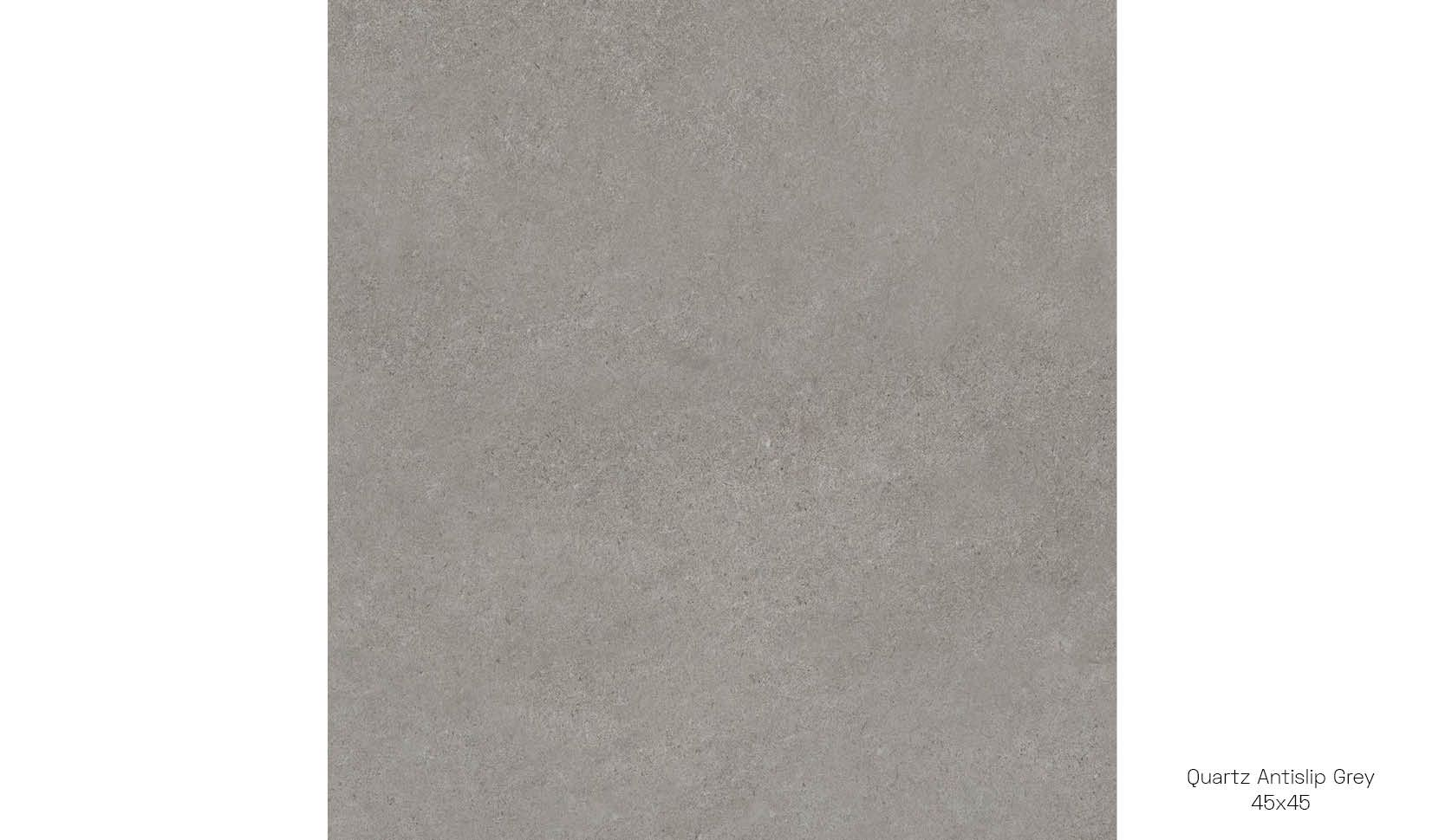 Quartz antislip grey 45 x 45