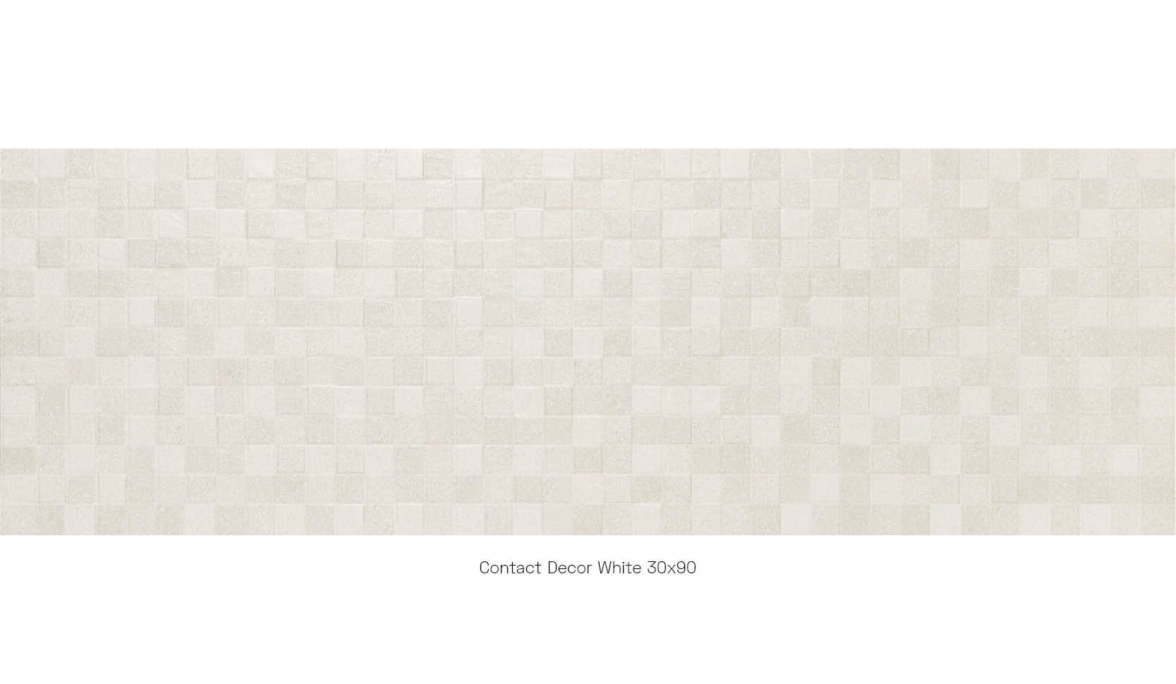 Contact decor white 30 x 90