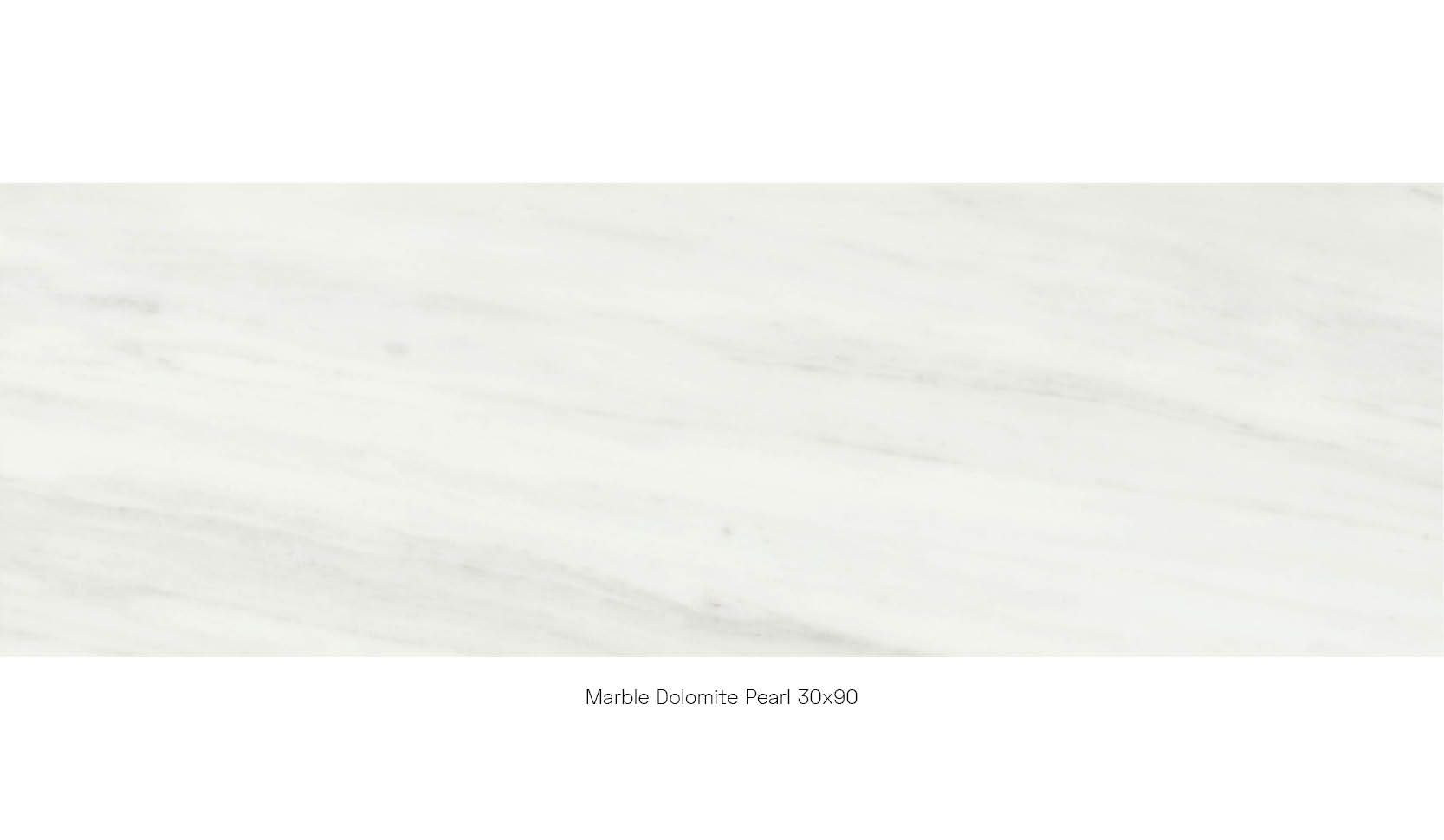 Marble dolomite pearl 30 x 90