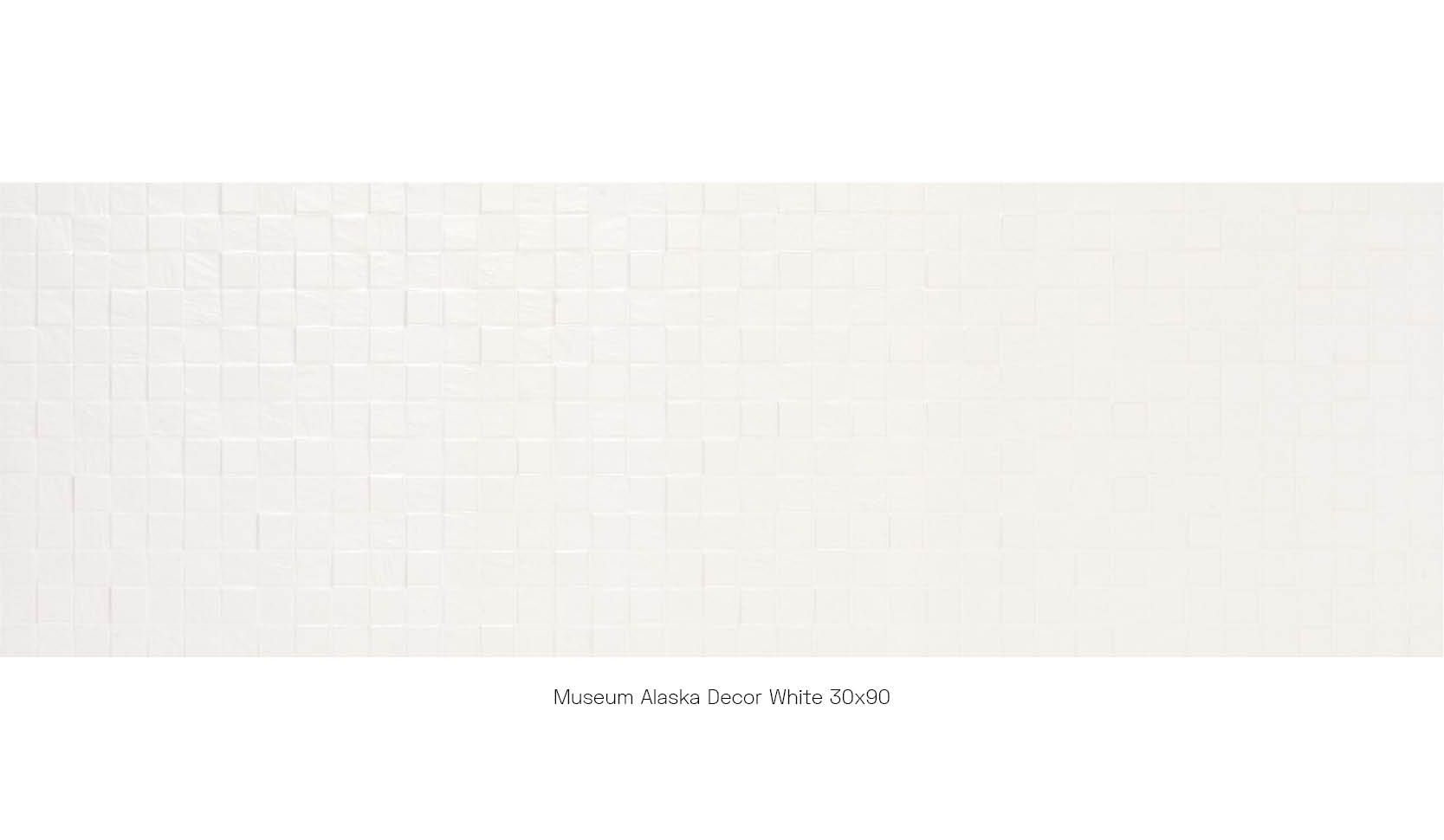 Museum Alaska Decor White 30 x 90