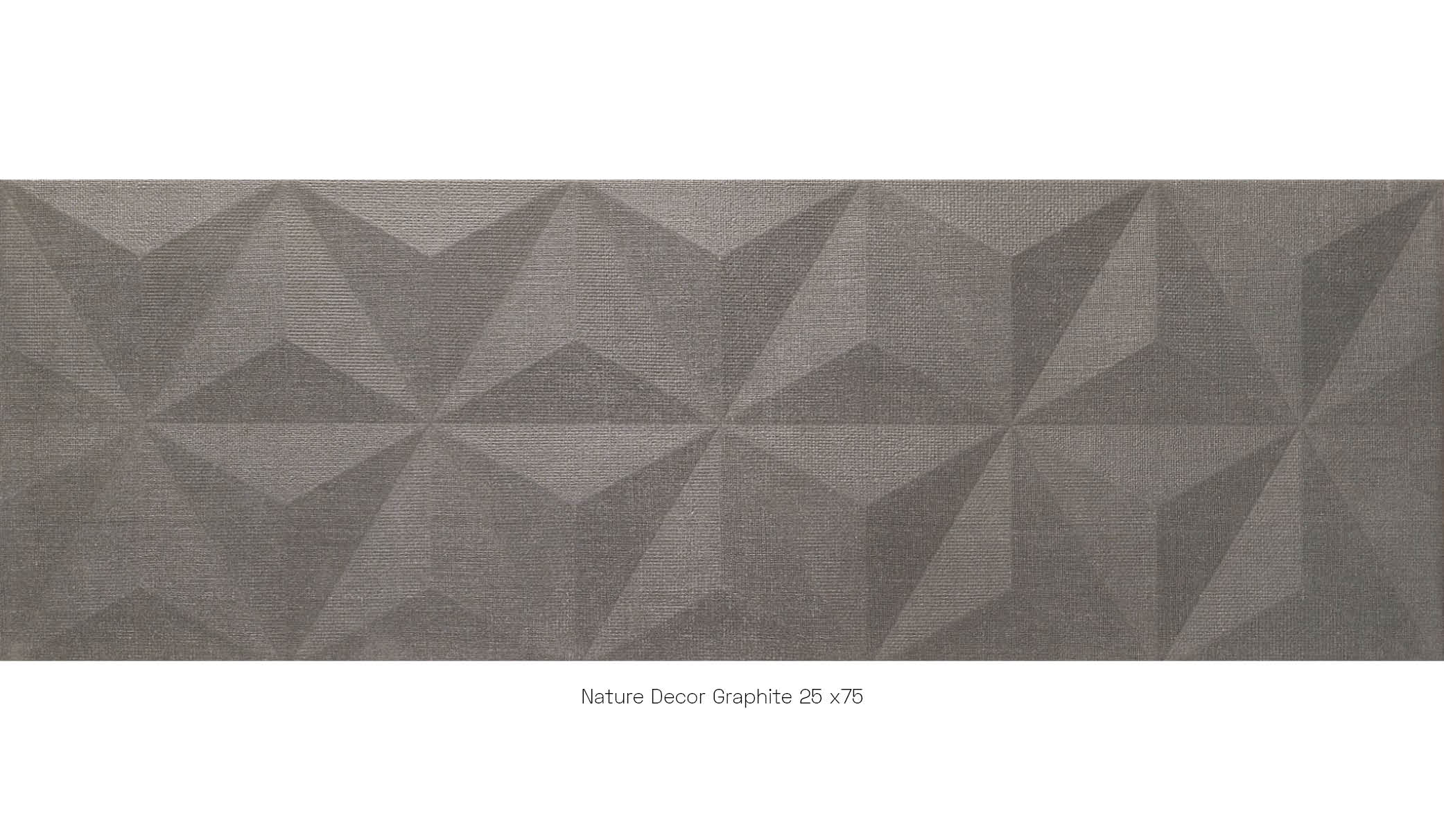 Nature decor grey 25x75