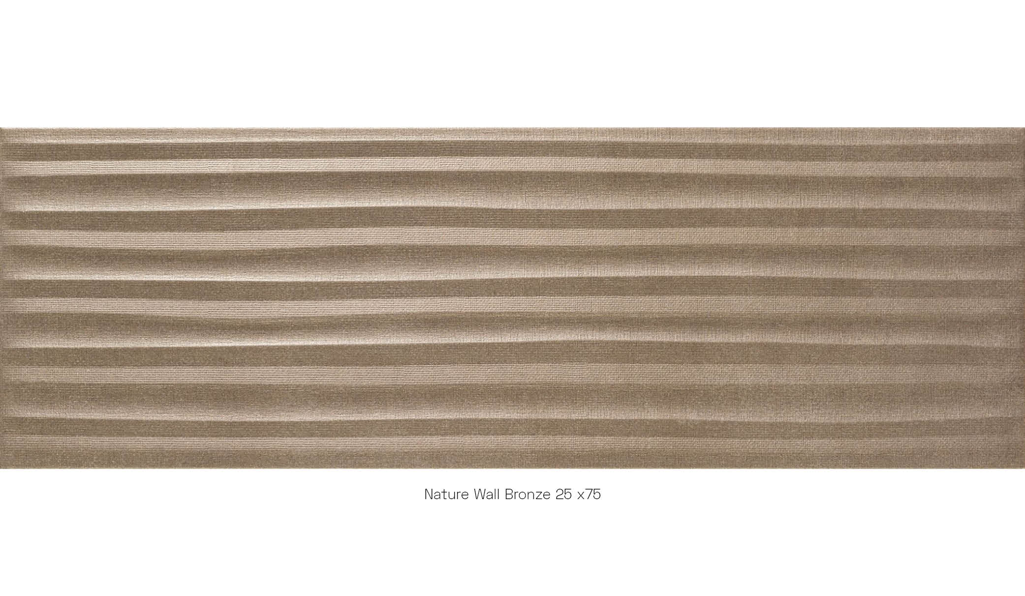 Nature wall bronze 25x75