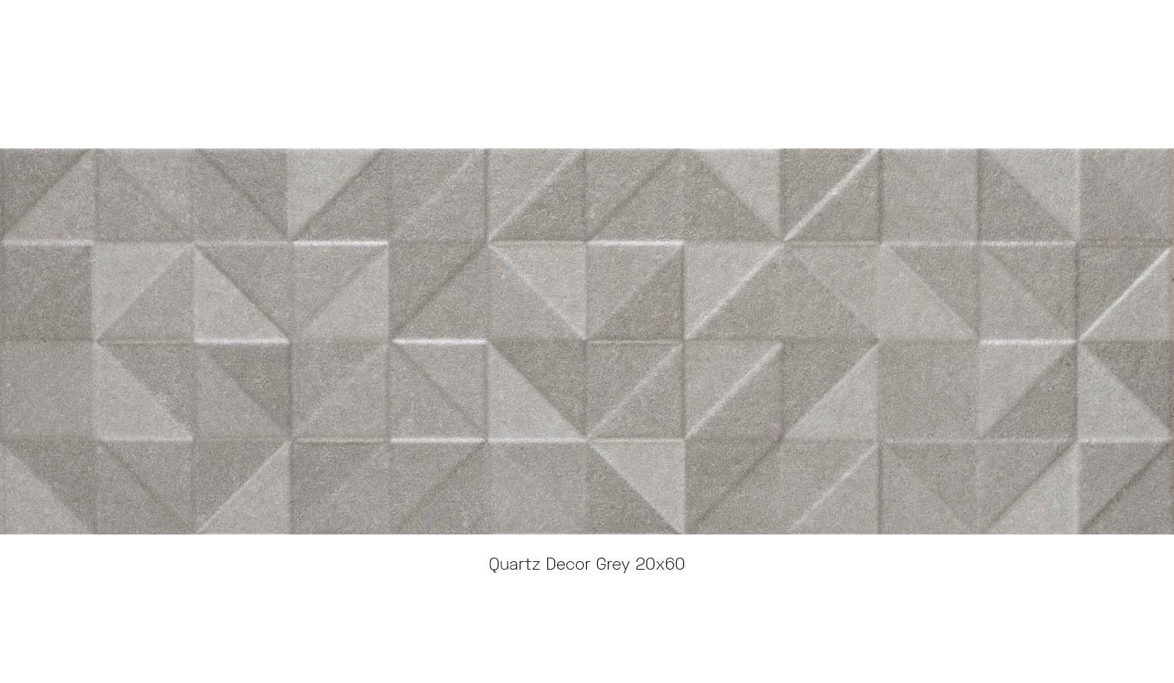 Quartz decor grey 20 x 60