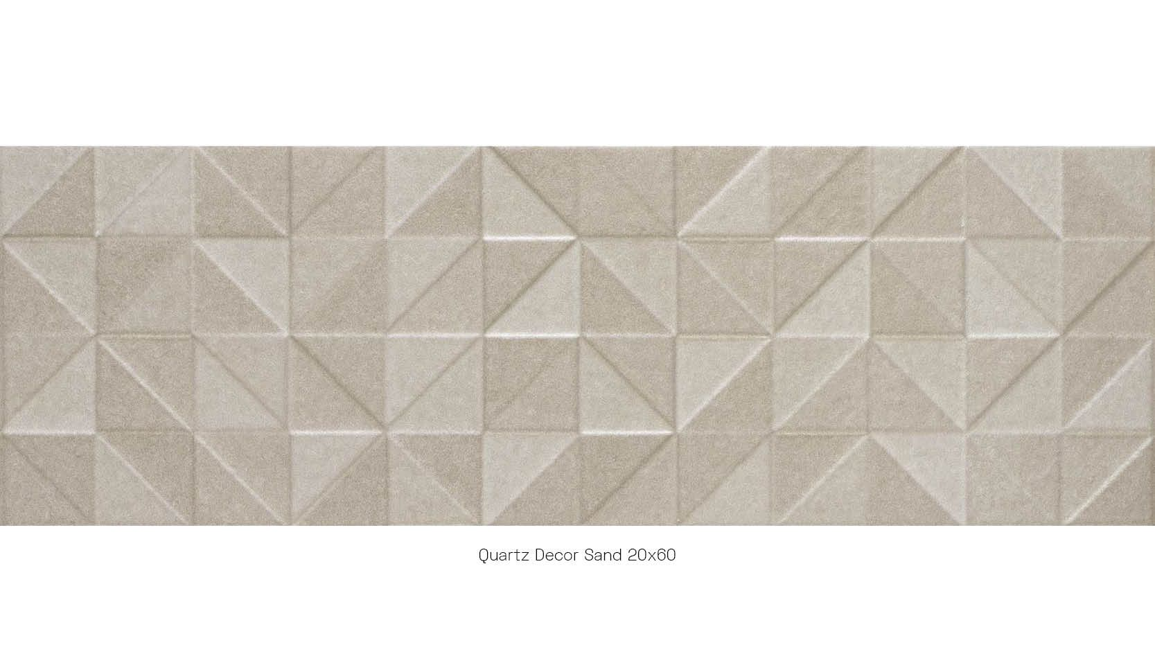 Quartz decor sand 20 x 60