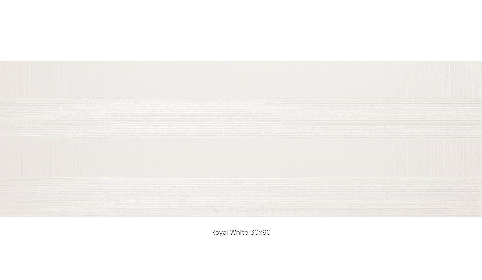 Royal white 30 x 90