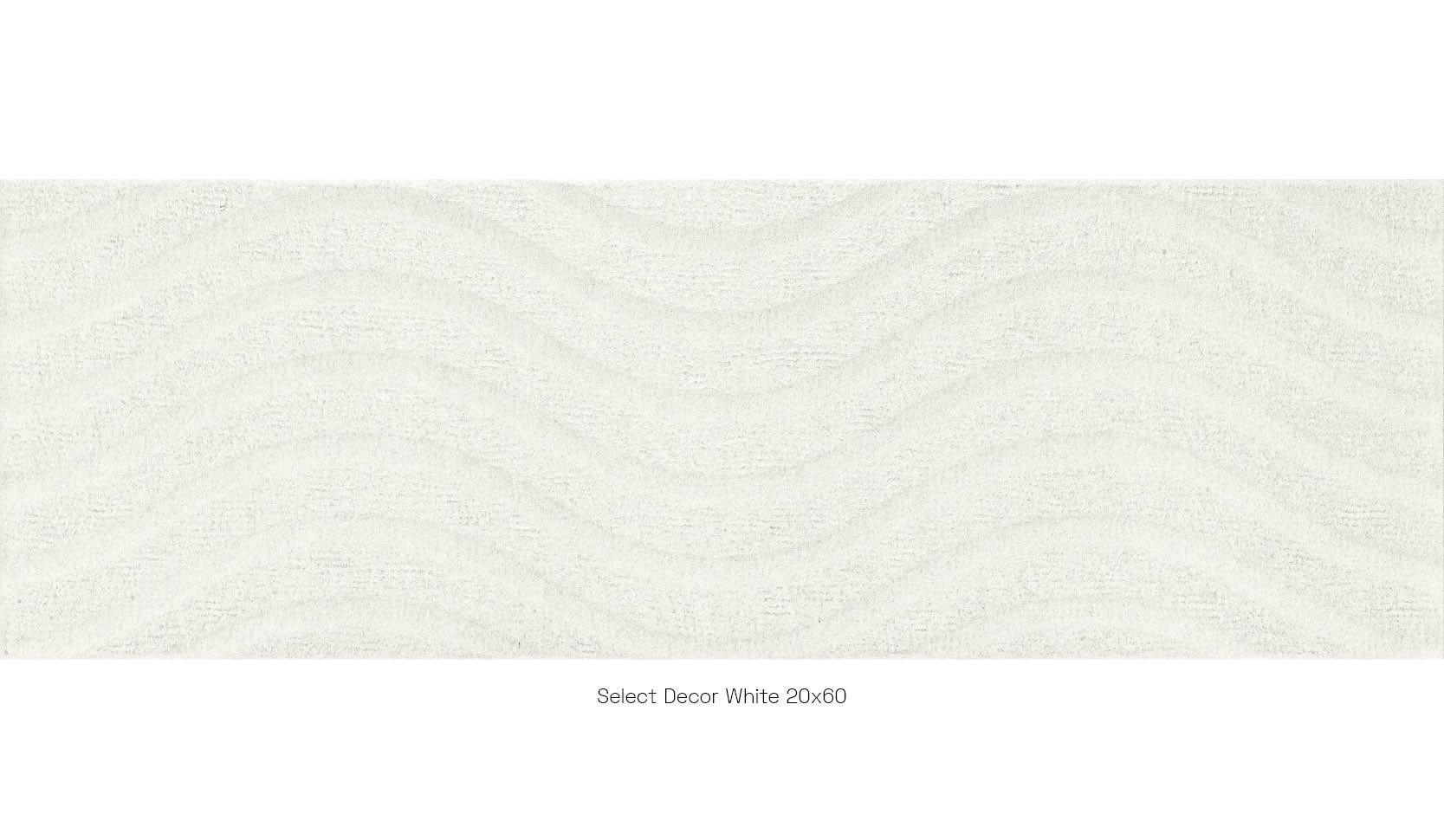 Select Decor White 20 x 60