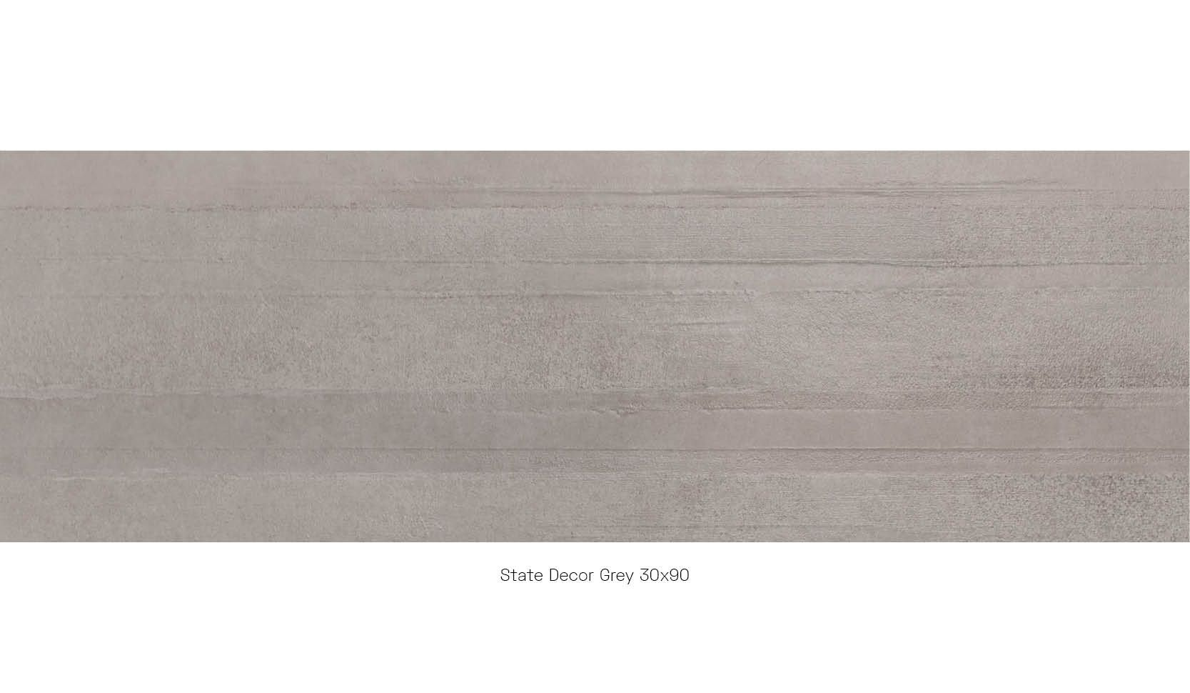 State Decor Grey 30 x 90