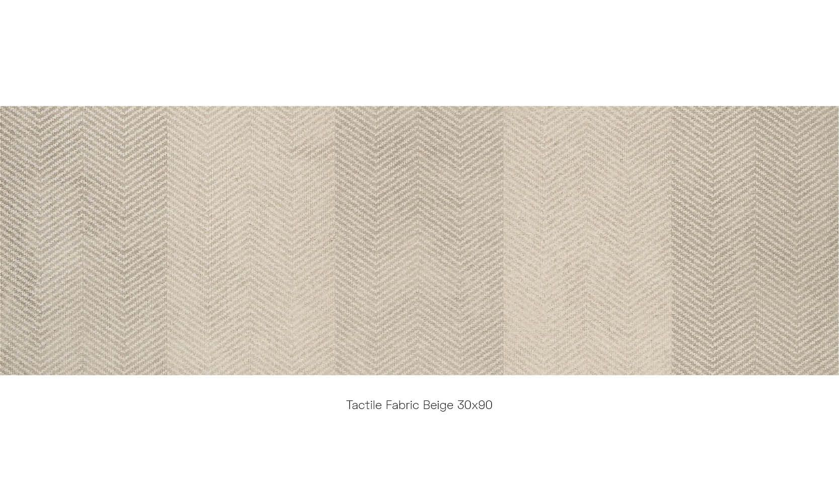 Tactile fabric beige 30 x 90