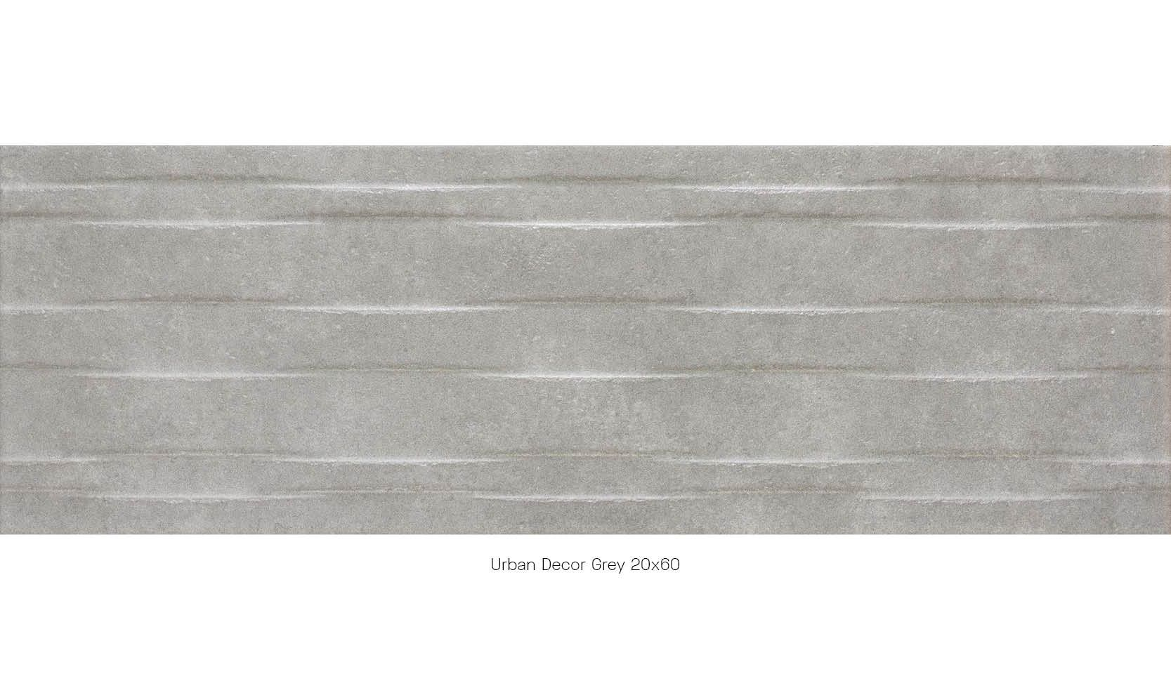 Urban decor grey 20 x 60