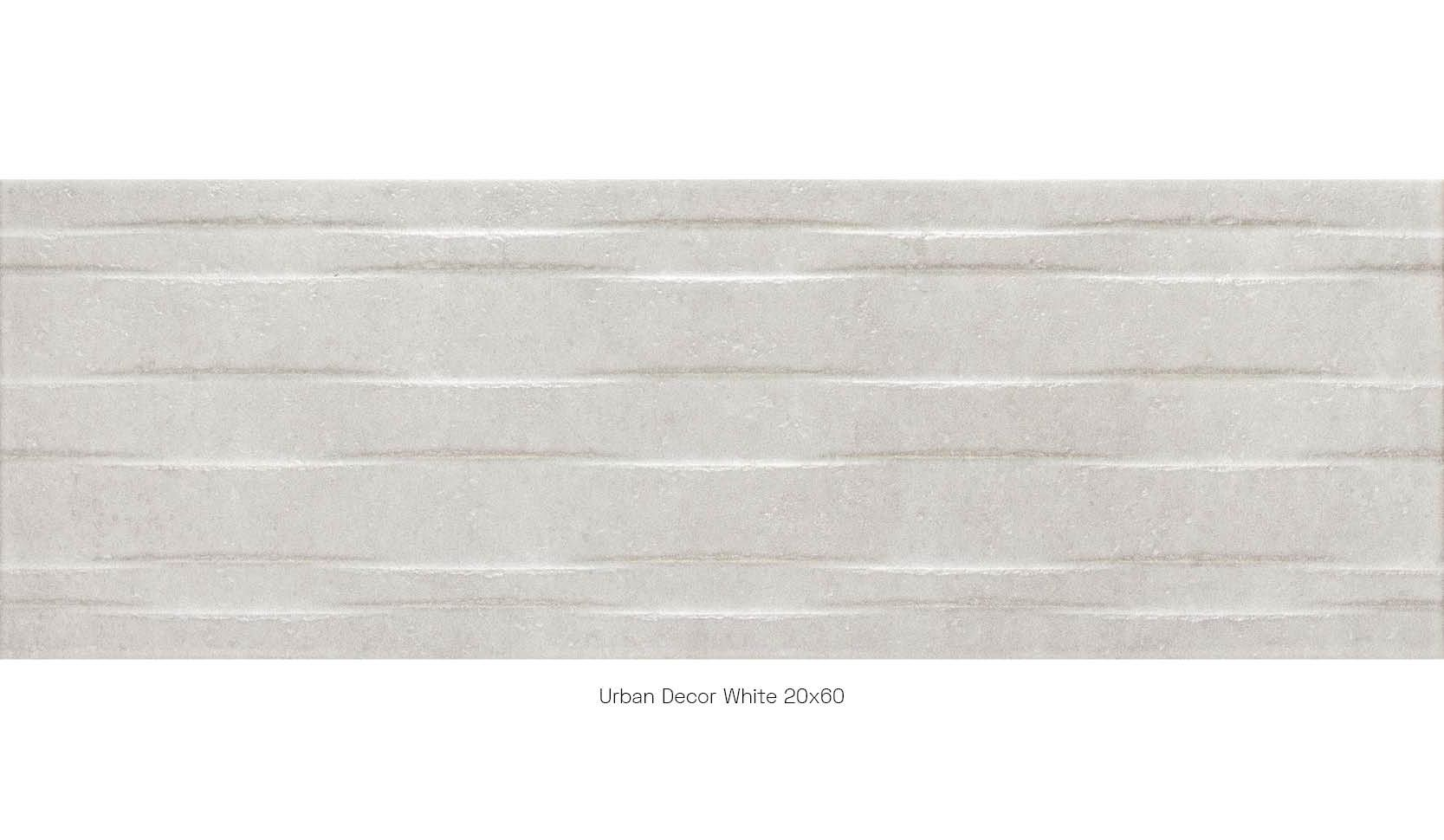 Urban decor white 20 x 60